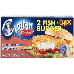 FISH & CHIPS BURGER FINDUS G 227 PZ 2