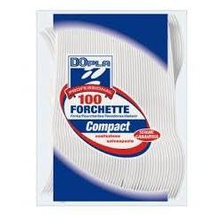 FORCHETTE PLASTICA X 100