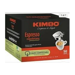 CAFFE IN CIALDE KIMBO ESPRESSO NAPOLETANO PZ.50