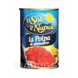 POLPA A CUBETTI ''O SOLE E NAPULE'' GR. 400