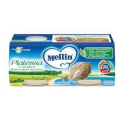 OMOGENEIZZATO MELLIN PLATESSA 2X80G.